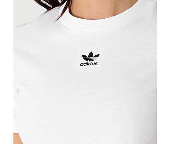 Top bianco adidas donna maniche corte essential art. gn2803 1