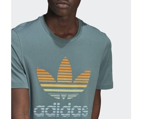 T shirt adidas verde hazel  trefoil ombre verde gp0164 2