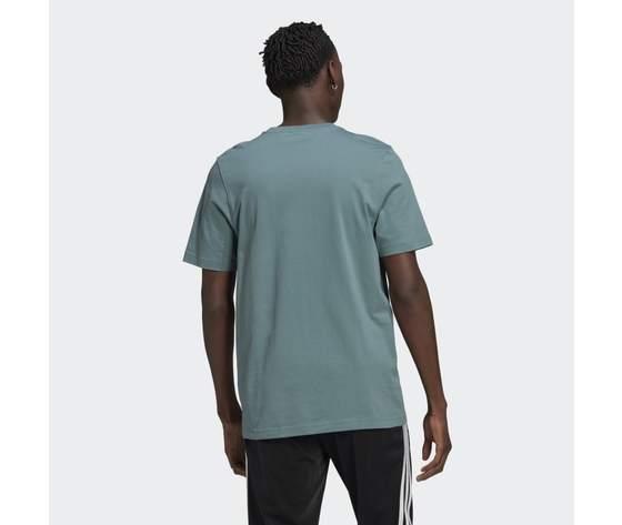 T shirt adidas verde hazel  trefoil ombre verde gp0164 1