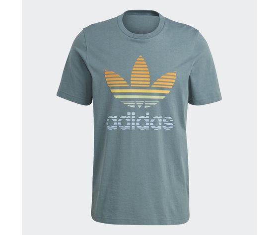 T shirt adidas verde hazel  trefoil ombre verde gp0164 3