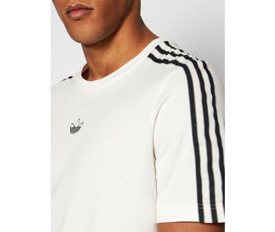 Adidas t shirt pprt 3 stripe t gn2422 beige regular fit %281%29
