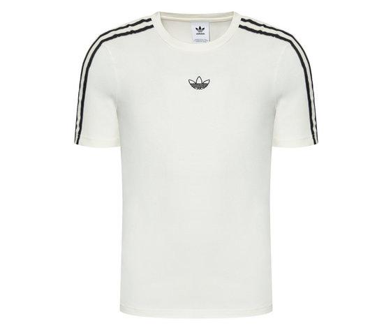 Adidas t shirt pprt 3 stripe t gn2422 beige regular fit %283%29