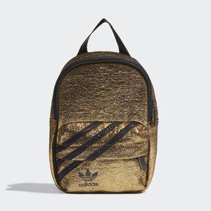 Adidas Mini Zaino Oro Glitter Gold 3 Stripes Trefoil art. GN2150