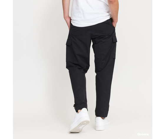 Pantalone nike con tasconi nero in woven acetato art. cu4325 010 1