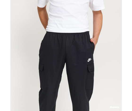 Pantalone nike con tasconi nero in woven acetato art. cu4325 010 2