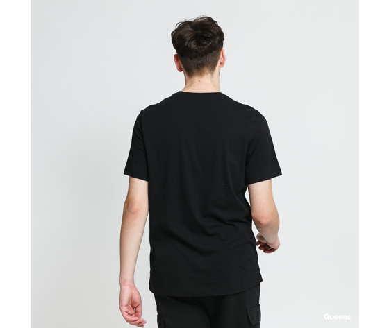Tshirt nike nera swoosh colorato art. db6161 010 1