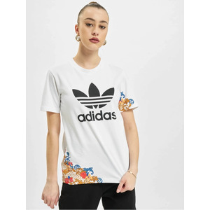 T-shirt Adidas Bianca Donna Stampa Floreale Fiorata x Her Studio London art. GN3354