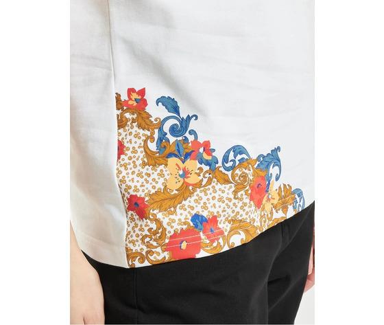 Tshirt adidas bianca con stampa floreale fiori donna spring break art. gn3354 %283%29