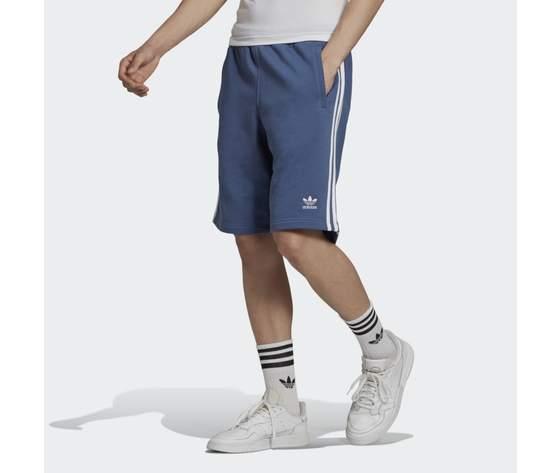 Bermuda pantaloncino adidas blu short 3 stripes blu gn4474