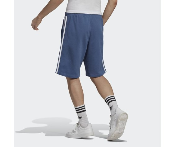 Bermuda pantaloncino adidas blu short 3 stripes blu gn4474 1