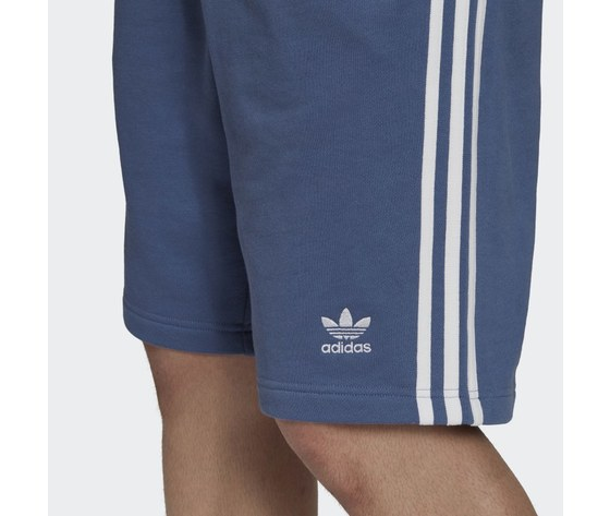 Bermuda pantaloncino adidas blu short 3 stripes blu gn4474 3