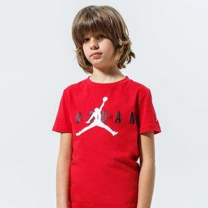 T- Shirt Ragazzi Jordan Brand Tee 5 Rossa con Logo Air Jordan Art. 955175 R78