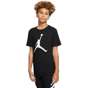 T- Shirt Ragazzi Jordan Jupman Tee Nera con logo Jordan Art. 952423 023