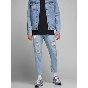 Jeans Cropped Con Strappi Uomo Vita Alta Cavallo basso Gamba Stretta Jack&Jones Frank LEEN AM 236 art. 12177436