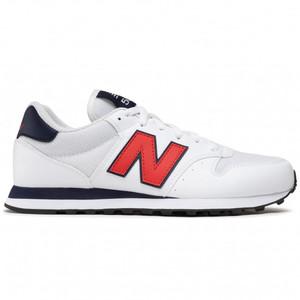 Sneakers New Balance 500 Uomo Bianco- Rosso Art. GM500TA1