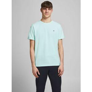 T-shirt Girocollo Verde Acqua Uomo Premium Cotone Strutturato Nido D'Ape Jack&Jones art. 12166527