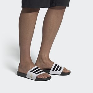 Ciabatte Adidas Shower Uomo  Nero e Bianche Art. FW7075