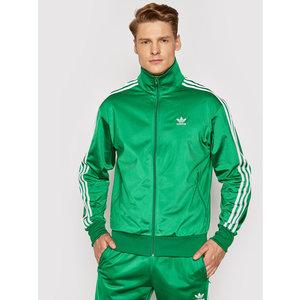 Giacca Adidas Verde uomo Firebird Regular tuta Strisce bianche art. GN3512