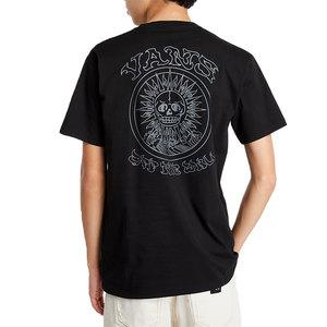 T-shirt Vans Nera El Sole Maglietta cotone girogola art. VN0A54CQBLK