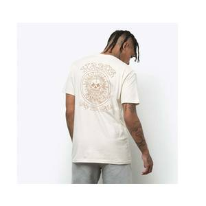 T-shirt Vans beige Stucco seedpearl El Sole Maglietta cotone girogola art. VN0A54CQZ6K