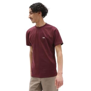 T-shirt Vans Bordeaux Bordò Port Royal Essential Logo Mini Left chest Unisex art. VN0A3CZEK1O