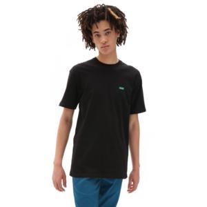 T-shirt Vans Nera Essential Logo Azzurro Mini Left chest Unisex art. VN0A3CZEB2N