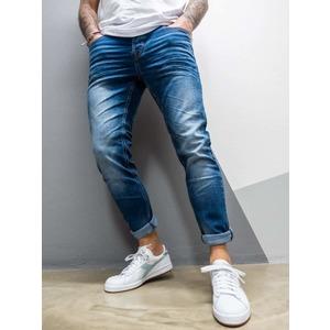 Jeans Slim fit Uomo Slavato senza rotture Berna art. 210001