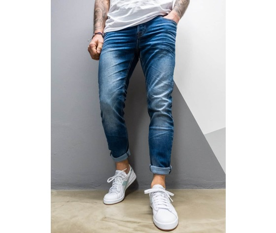 Berna jeans sfumato slim fit senza rotture 210001 blu 1 900x1200