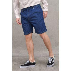 Bermuda Jeans Denim Uomo con Pinches Berna Italia art. 210170