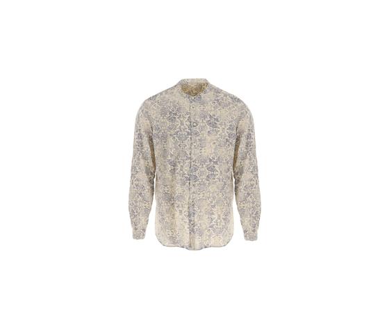 Camicia stampa floreale imperial uomo slavato collo coreana uomo fantasia ecr%c3%b9  blu art. cyx5bco5k3 %281%29