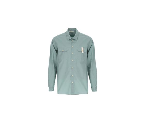 La camicia regular %c3%a8 caratterizzata da un colletto classico  maniche lunghe e due taschini dettaglio sul petto. 95  cotone  5  elastan %281%29