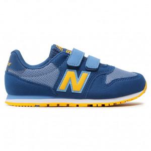 Sneakers New Balance Bambino Blu e Giallo con Strappi in tela Art. YV500TPL