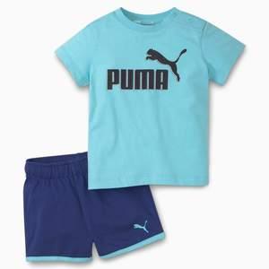 Completo Puma Minicats Babies Bambina Azzurro Blu Art. 586622 49