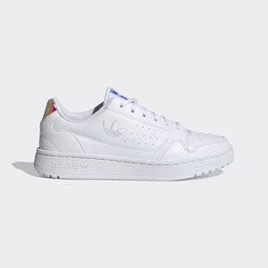 Sneakers Adidas Ny 90 Bianca con effetto Iridescente sul tallone Art. FY9841