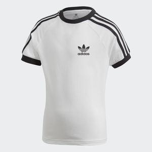 Adidas T- shirt 3-Stripes Ragazzi Bianca e Nera  Art. DV2860