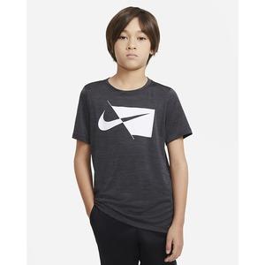 T- shirt Nike da training a manica corta Nera Ragazzo Art. DA0282 010