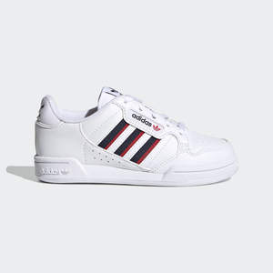 Sneakers Adidas Bambino Continental 80 Stripes Bianca Blu Rossa Art. S42611