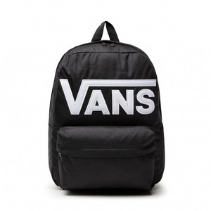 Zaino Vans Nero con Logo frontale old skool drop V Backpack art. VN0A5KHPY281