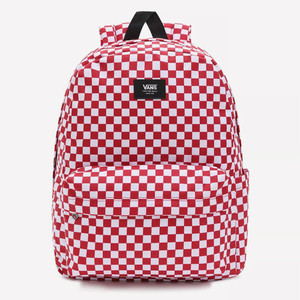 Zaino Vans a Scacchi Rosso Bianco Old Skool Check art. VN0A316R9761