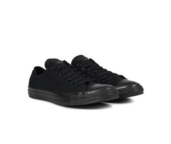Sneakers converse all star ox canvas black monochrome 34560 674 2