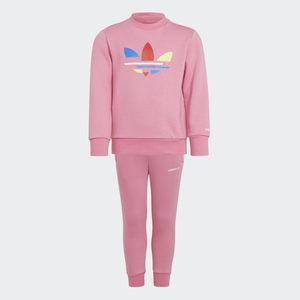 Tuta Adidas Adicolor Rosa Ragazza Art. H25295