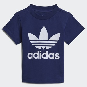T-shirt Adidas Bambini Blu Trefoil Art. H35522