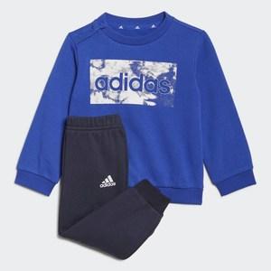 Completo Felpa- Pantaloni Adidas Essentials Blu  Bambino Art. GS4280