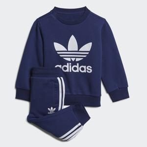 Completo Tuta Sweatshirt Blu Bianco Bambino Art. H35564