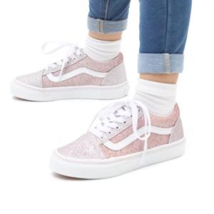 Sneakers Vans Old Skool Bambina Rosa Glitter Art. VN000W9T99B