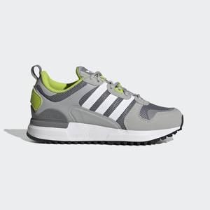 Sneakers Adidas ZX 700 HD Ragazzi Grigio Verde Fluo Bianco Art. GZ7512