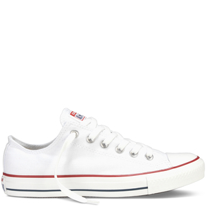 Converse bianca bassa tela All Star Classic Sneakers Optical White Art. M7652C