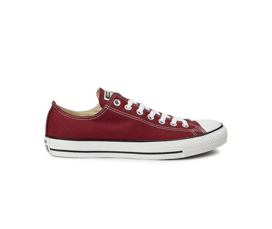 Sneakers converse all star ox canvas maroon 37321 674 1