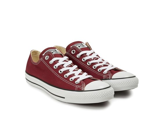 Sneakers converse all star ox canvas maroon 37321 674 2