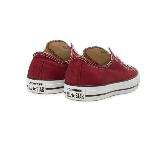 Sneakers converse all star ox canvas maroon 37321 674 3